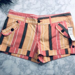 Buckle Striped Shorts by Daytrip